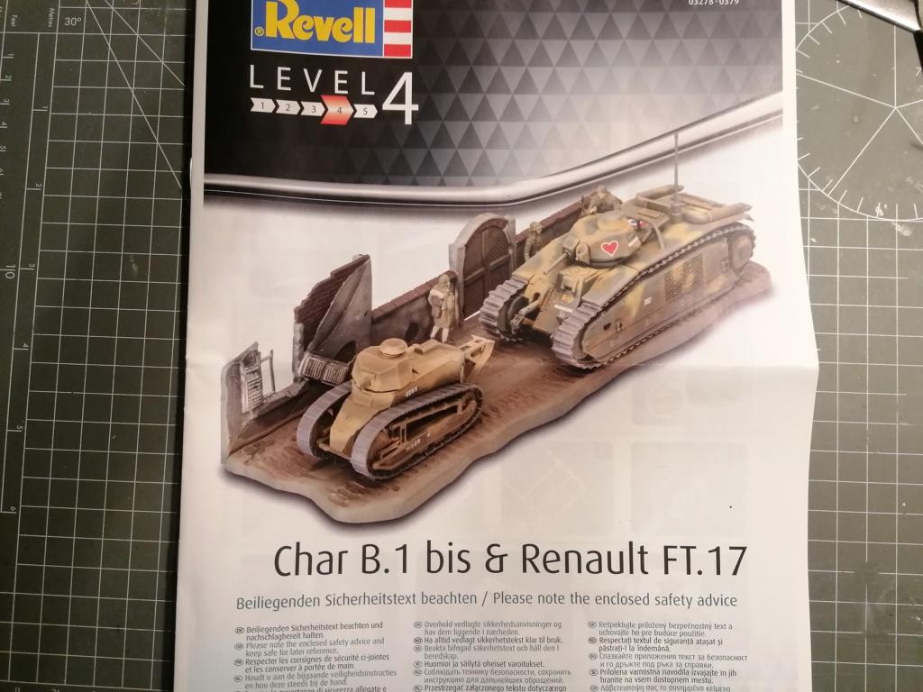 [REVELL] Char B1.Bis et RENAULT FT-17 1/76ème Réf 03278 Img_2026