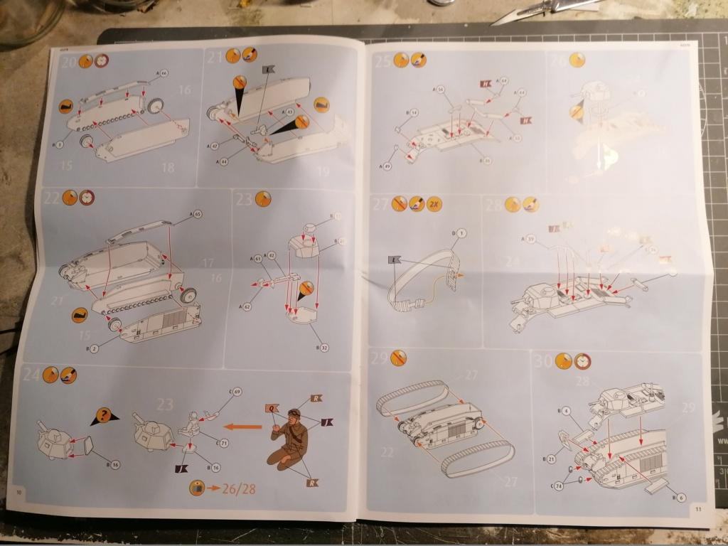 [REVELL] Char B1.Bis et RENAULT FT-17 1/76ème Réf 03278 Img_2030