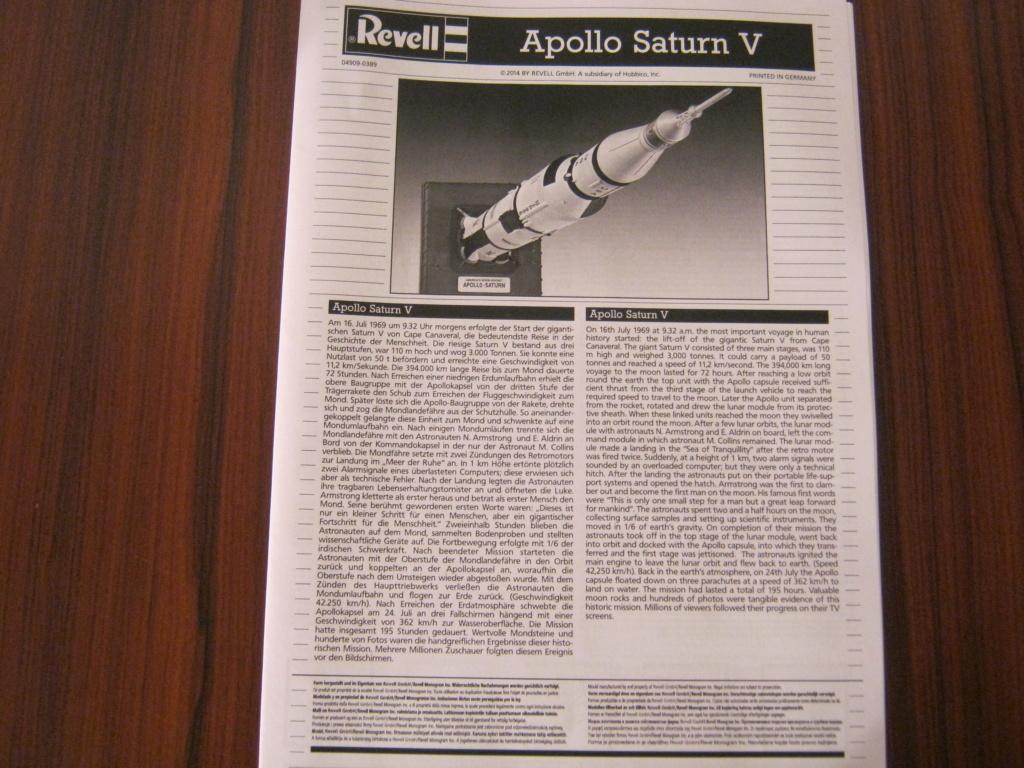 [REVELL] APOLLO SATURN V 1/144ème Réf 04909 Img_6938