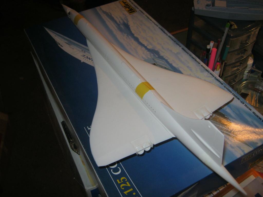 SUD AVIATION - BRITISH AIRCRAFT CORPORATION  CONCORDE Cie AIR FRANCE 1/125ème Réf 80445 - Page 2 Img_7025