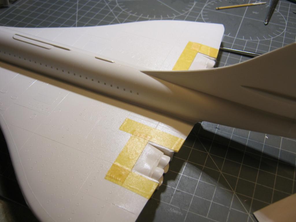 SUD AVIATION - BRITISH AIRCRAFT CORPORATION  CONCORDE Cie AIR FRANCE 1/125ème Réf 80445 - Page 2 Img_7115