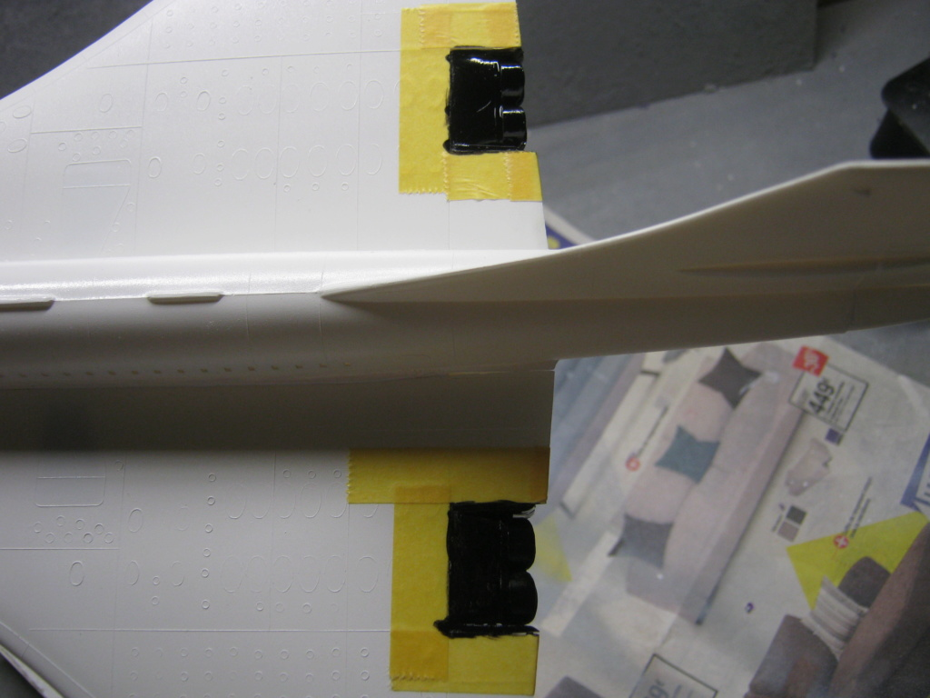 SUD AVIATION - BRITISH AIRCRAFT CORPORATION  CONCORDE Cie AIR FRANCE 1/125ème Réf 80445 - Page 2 Img_7118