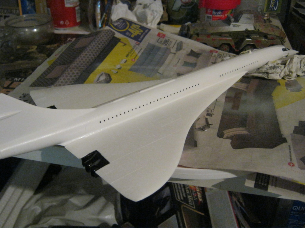 SUD AVIATION - BRITISH AIRCRAFT CORPORATION  CONCORDE Cie AIR FRANCE 1/125ème Réf 80445 - Page 2 Img_7130