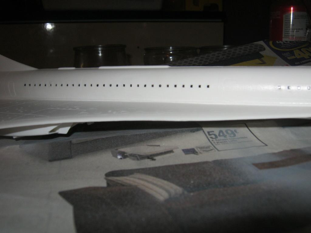 SUD AVIATION - BRITISH AIRCRAFT CORPORATION  CONCORDE Cie AIR FRANCE 1/125ème Réf 80445 - Page 2 Img_7131