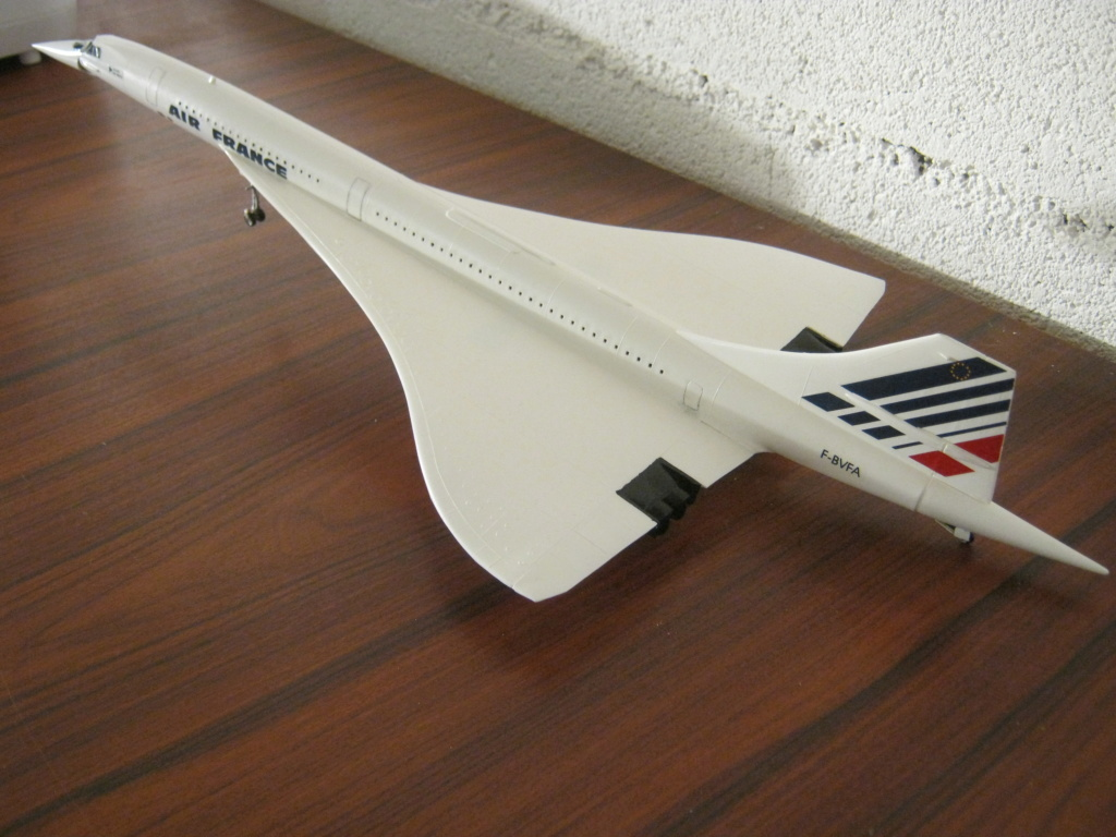 SUD AVIATION - BRITISH AIRCRAFT CORPORATION  CONCORDE Cie AIR FRANCE 1/125ème Réf 80445 - Page 3 Img_7216