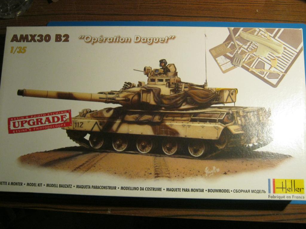 "[HELLER] AMX 30 B2 ""Opération DAGUET"" (UPGRADE) 1/35ème Réf 81157 Img_8136"