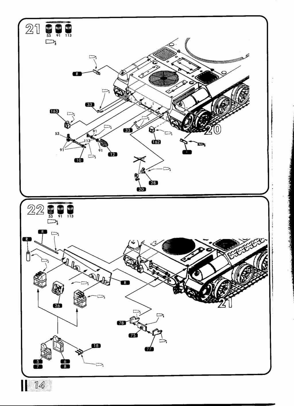"[HELLER] AMX 30 B2 ""Opération DAGUET"" (UPGRADE) 1/35ème Réf 81157 Notice30"