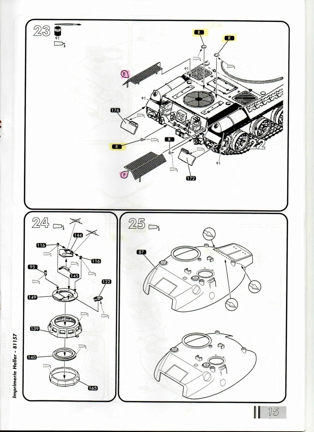 "[HELLER] AMX 30 B2 ""Opération DAGUET"" (UPGRADE) 1/35ème Réf 81157 Notice32"