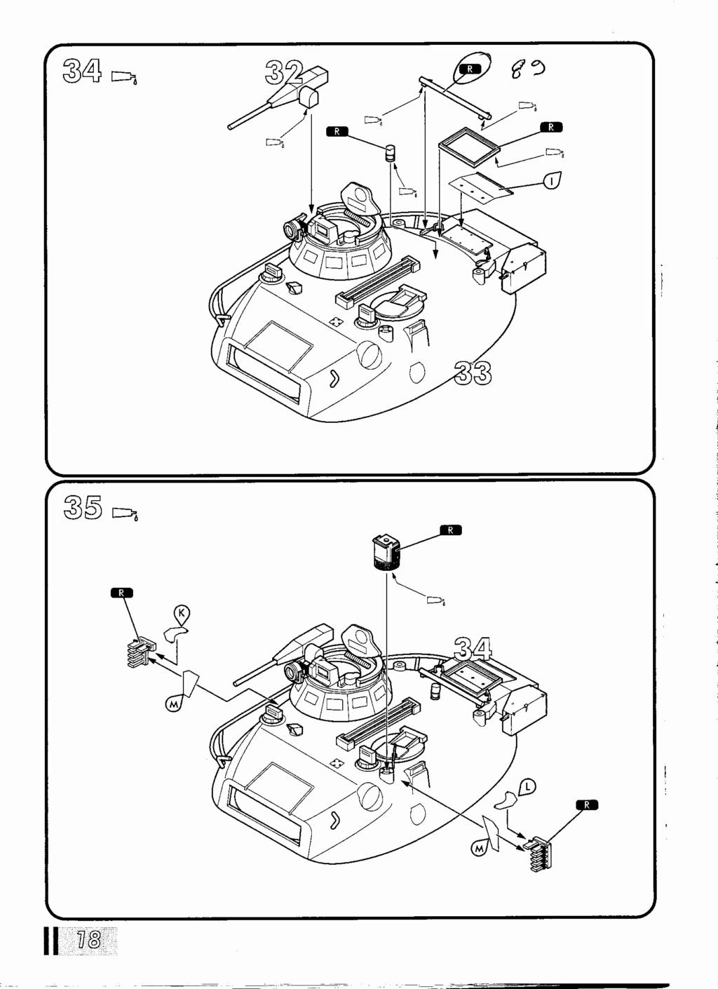 "[HELLER] AMX 30 B2 ""Opération DAGUET"" (UPGRADE) 1/35ème Réf 81157 Notice35"