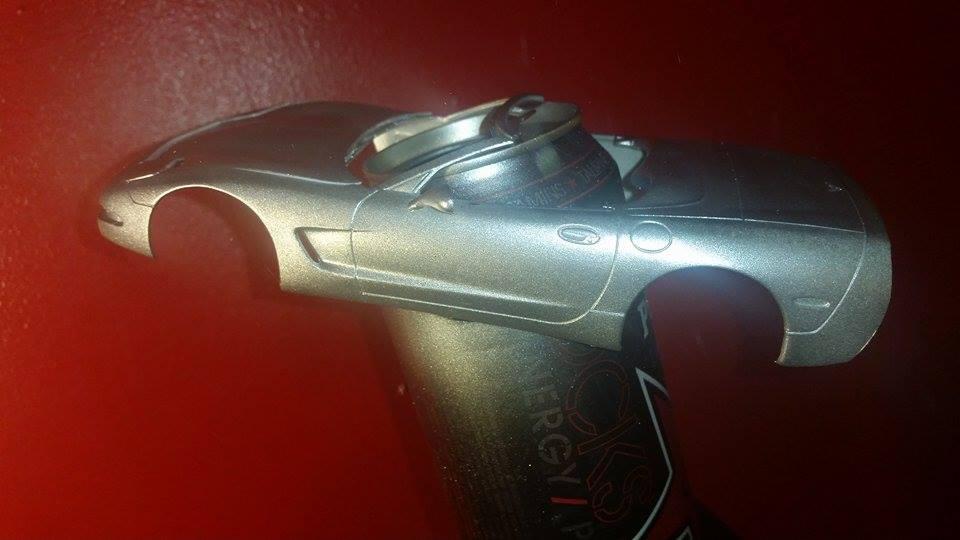 Corvette convertible 1998 de Revell. 11721310