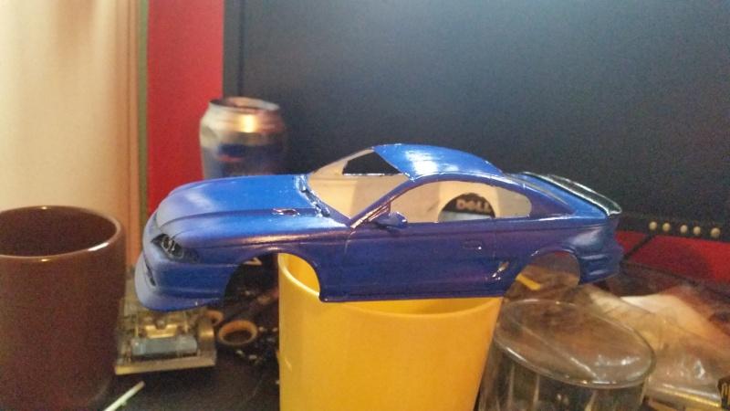 Restoration Mustang Boss. 14382910