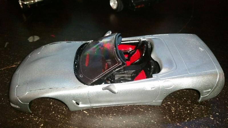 Corvette convertible 1998 de Revell. 20150712