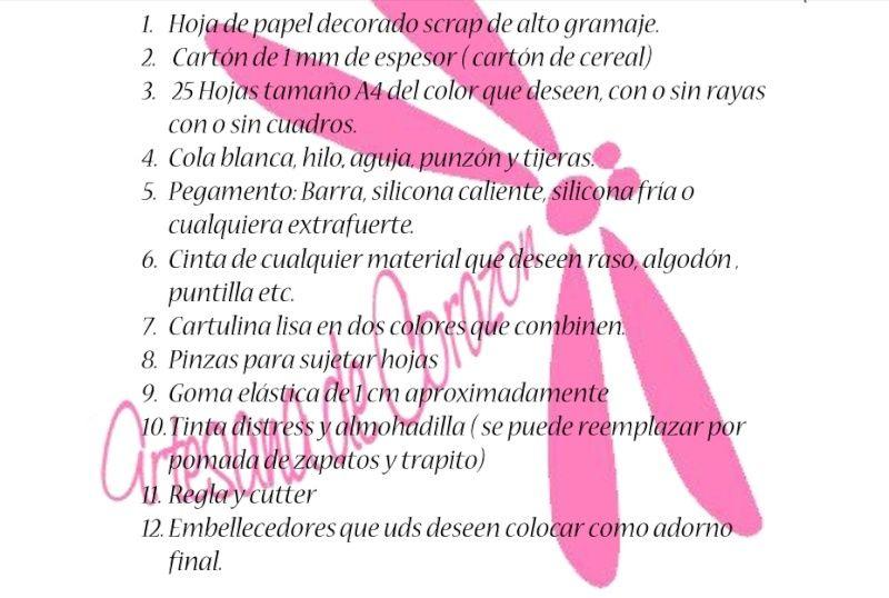 "CREARTESCRAP-CURSO GRATIS: ""LIBRETA"" INSCRIPCION CERRADA Materi10"