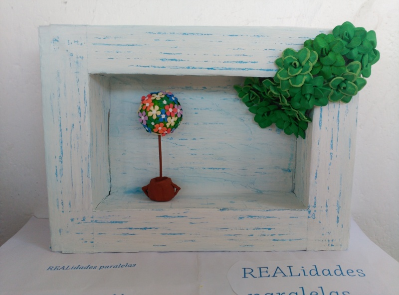 """GALERIA CURSO """"CUADRO MINITOPIARIO"""" Realid14"""