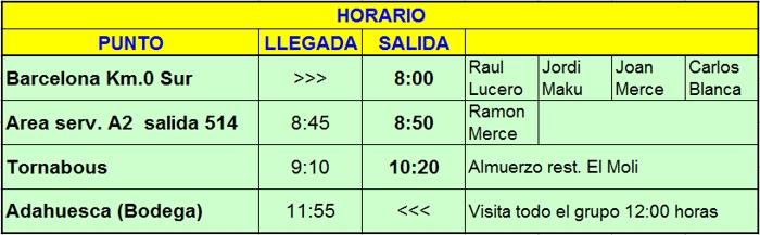 QUEDADA (ARA): V Parrillada de Pomar. 06 Junio 2015 - Página 2 Horari10