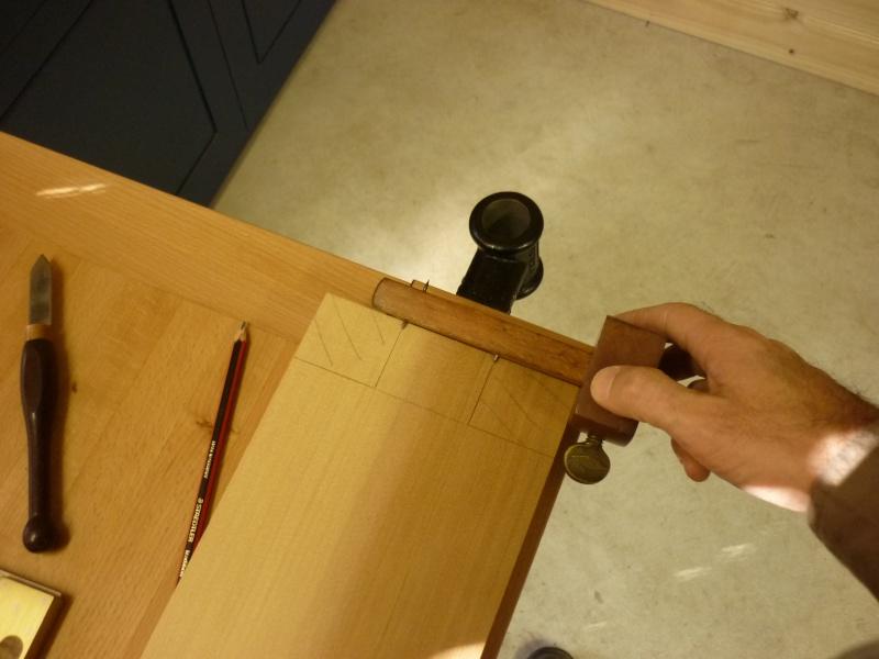 Réalisation d'une fenêtre à châssis fixe. P1050513