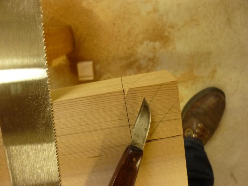 Réalisation d'une fenêtre à châssis fixe. P1050614