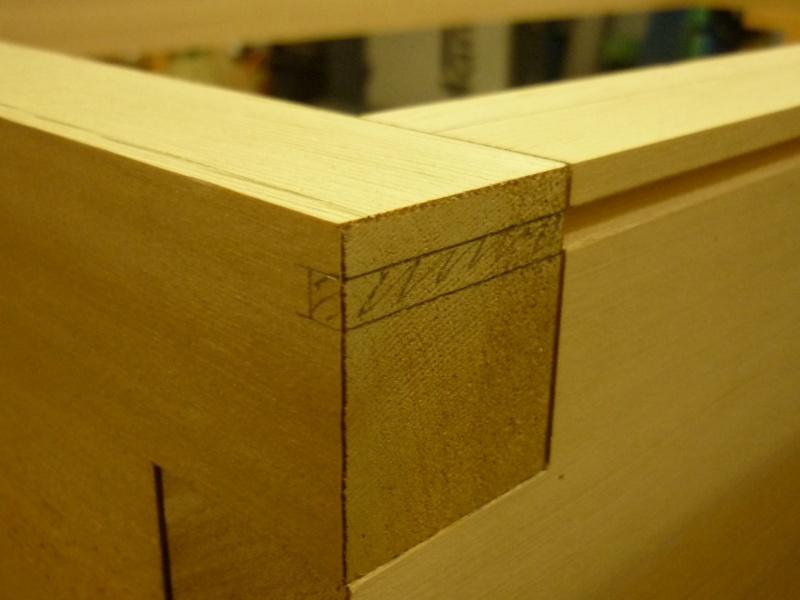 Réalisation d'une fenêtre à châssis fixe. P1050621