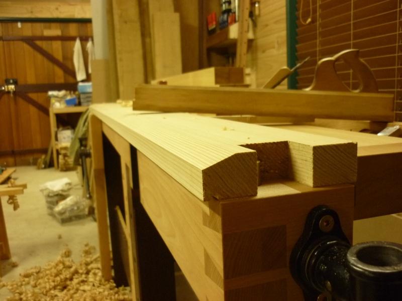 Réalisation d'une fenêtre à châssis fixe. P1050624