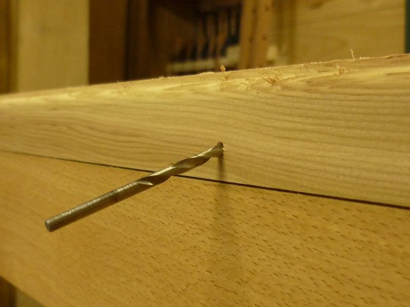 Réalisation d'une fenêtre à châssis fixe. P1050630