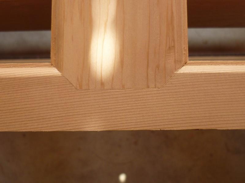 Réalisation d'une fenêtre à châssis fixe. P1050637