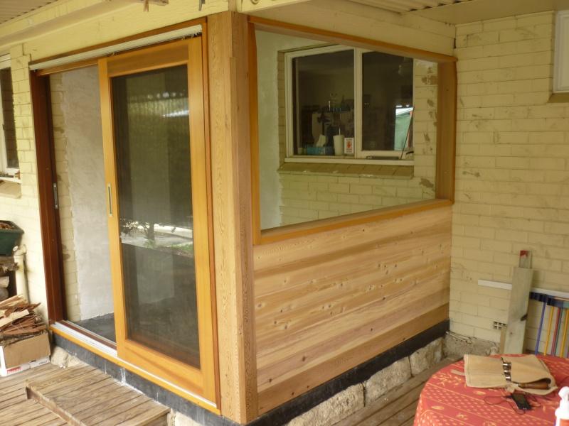 Réalisation d'une fenêtre à châssis fixe. P1050638