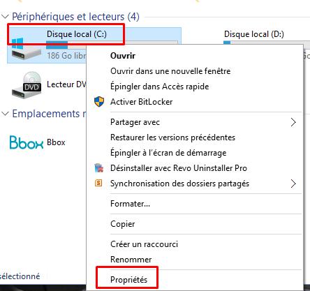 Désactiver la défragmentation sous Windows 10 Dysact10