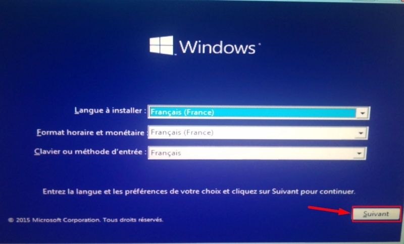 Comment installer Windows 10 Instal10