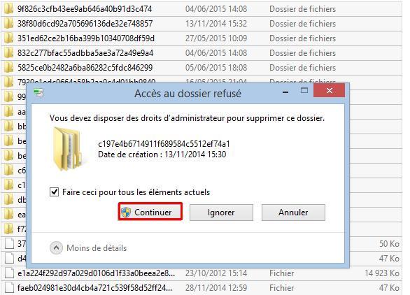 Supprimer les fichiers inutile sous Windows 7 / Windows 8 / 8.1 Softwa13