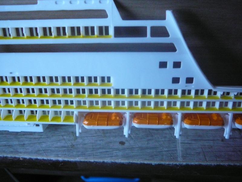 cruiser ship AIDA revell au 1/400 Aida1210