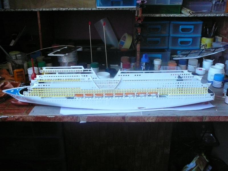cruiser ship AIDA revell au 1/400 Aida1710
