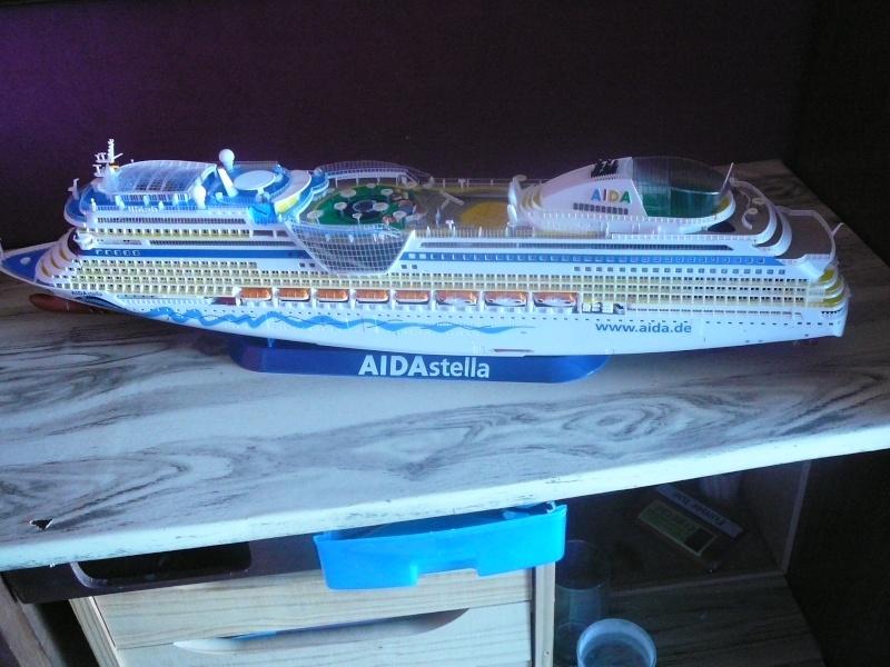 cruiser ship AIDA revell au 1/400 - Page 3 Aida5010