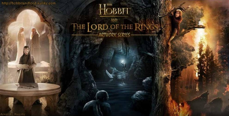The Hobbit and The Lordrd of the Rings