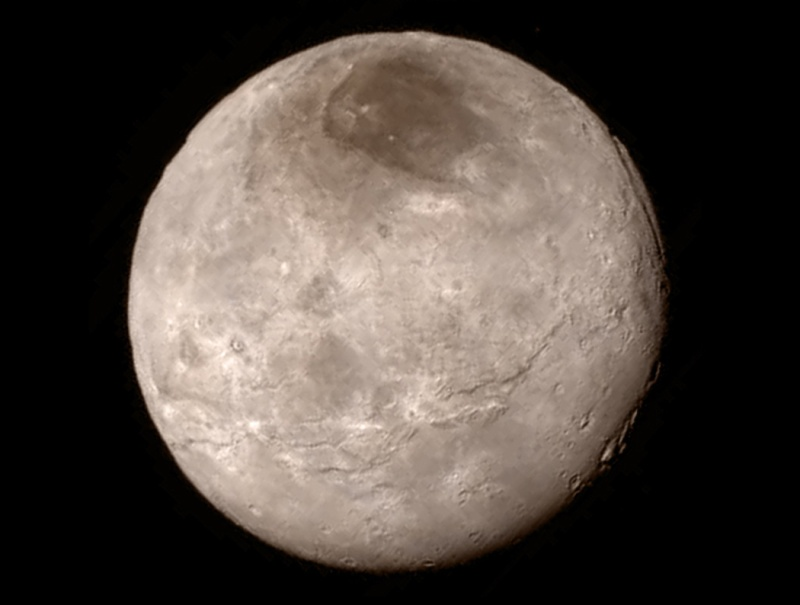 first enhanced pictures of Pluto give rise to concerns Pluto_10