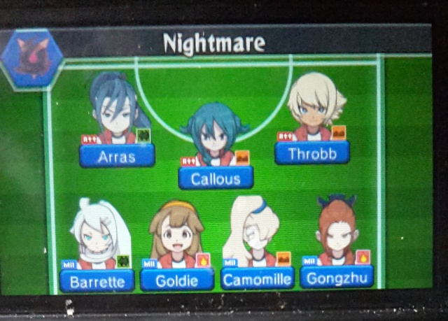 Mon équipe: Nightmare  20150711