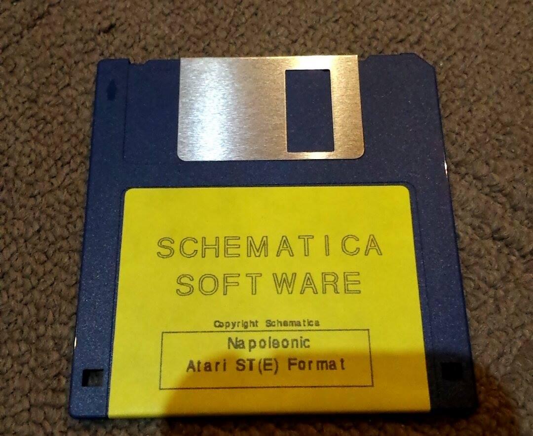 Napoleonic / Schematica software (Atari ST) Napole10