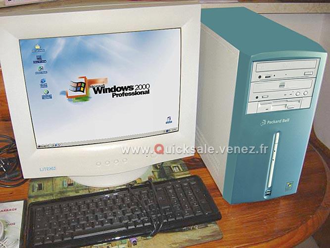 [VDS] Tour Windows 2000 Pro Packard Bell 60€ Packar12