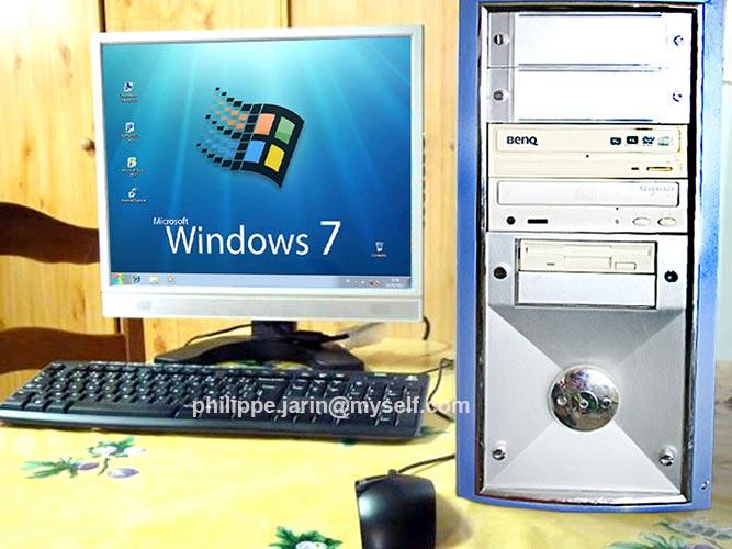 [VENDU] Tour Intel® Celeron Plus bureautique, windows7  60€ 60b10