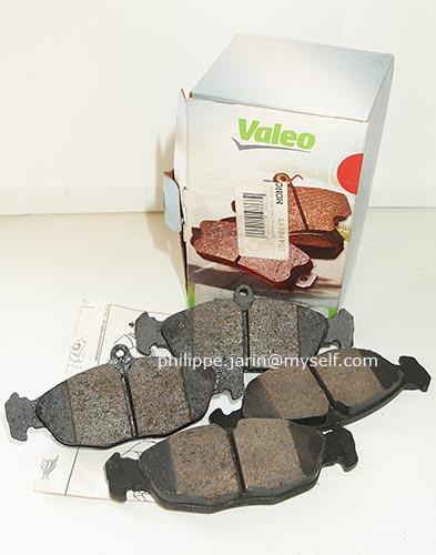 [VDS] Jeu de 4 plaquettes de frein VALEO 598039 toute neuves 15€ Valeo011