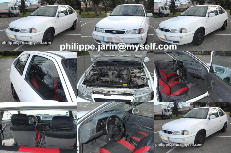 [VENDU]  Daewoo nexia 3 portes essence : 1.5 GL  750€ Vt0810