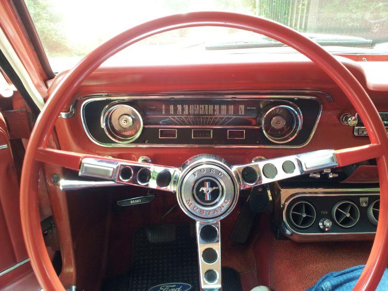 """Ford Mustang 289 - auf dem Parkplatz """"schnappgeschossen"""" 1965 20150611"""