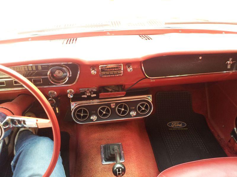 """Ford Mustang 289 - auf dem Parkplatz """"schnappgeschossen"""" 1965 20150613"""