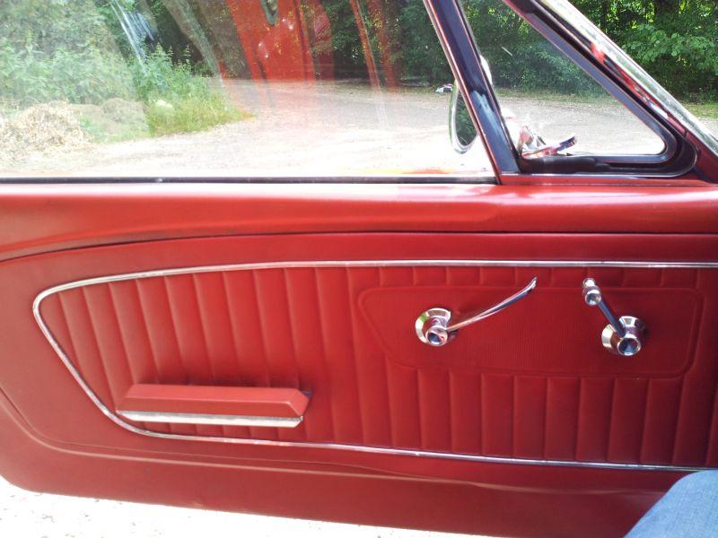 """Ford Mustang 289 - auf dem Parkplatz """"schnappgeschossen"""" 1965 20150614"""