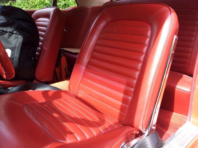 """Ford Mustang 289 - auf dem Parkplatz """"schnappgeschossen"""" 1965 20150615"""