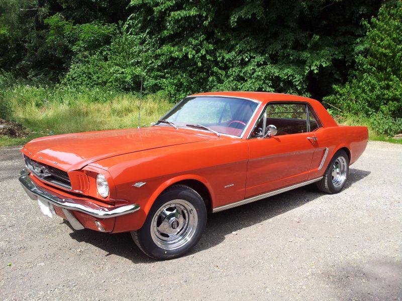 """Ford Mustang 289 - auf dem Parkplatz """"schnappgeschossen"""" 1965 20150616"""