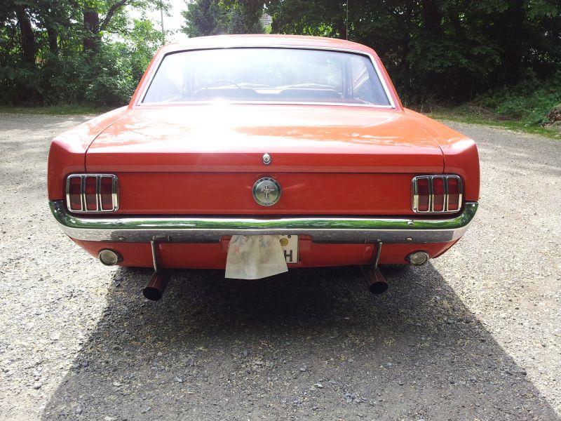 """Ford Mustang 289 - auf dem Parkplatz """"schnappgeschossen"""" 1965 20150617"""