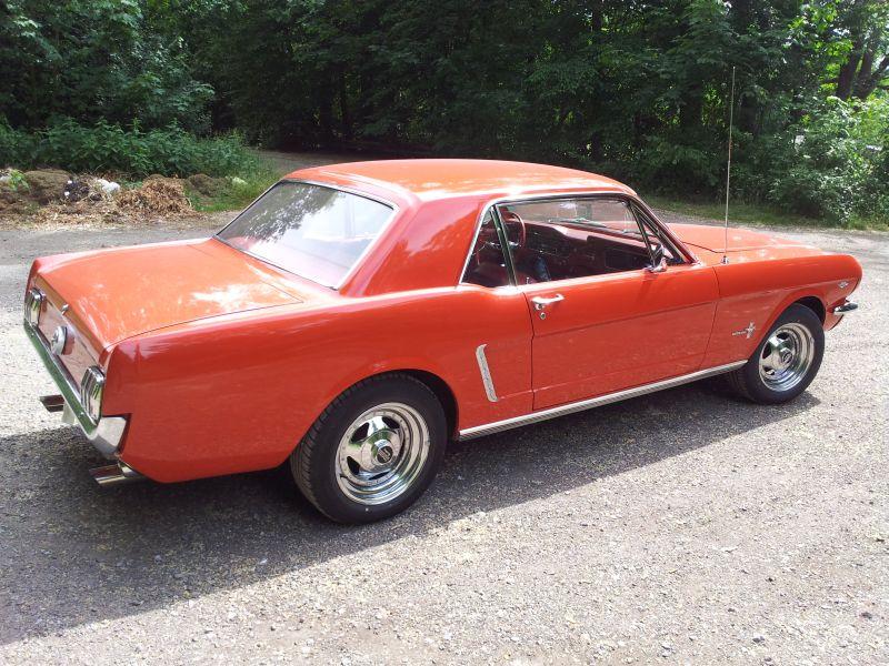 """Ford Mustang 289 - auf dem Parkplatz """"schnappgeschossen"""" 1965 20150618"""