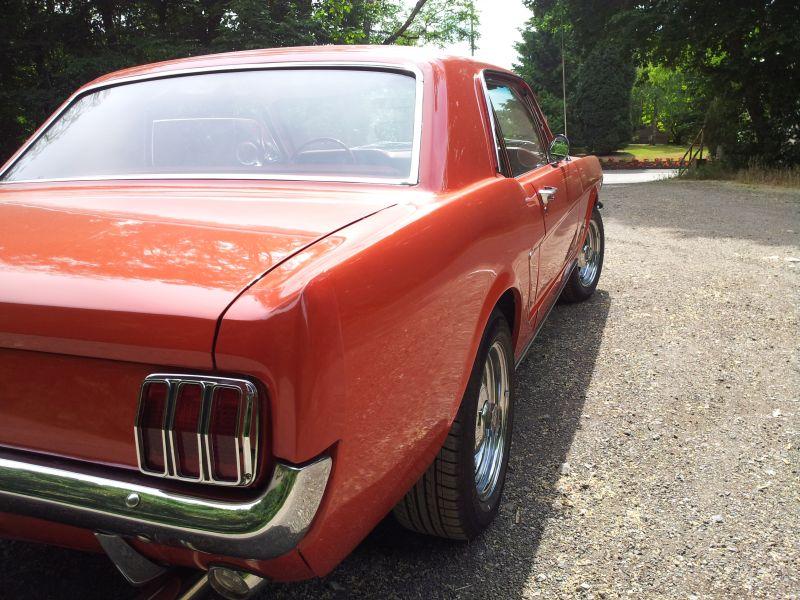 """Ford Mustang 289 - auf dem Parkplatz """"schnappgeschossen"""" 1965 20150619"""
