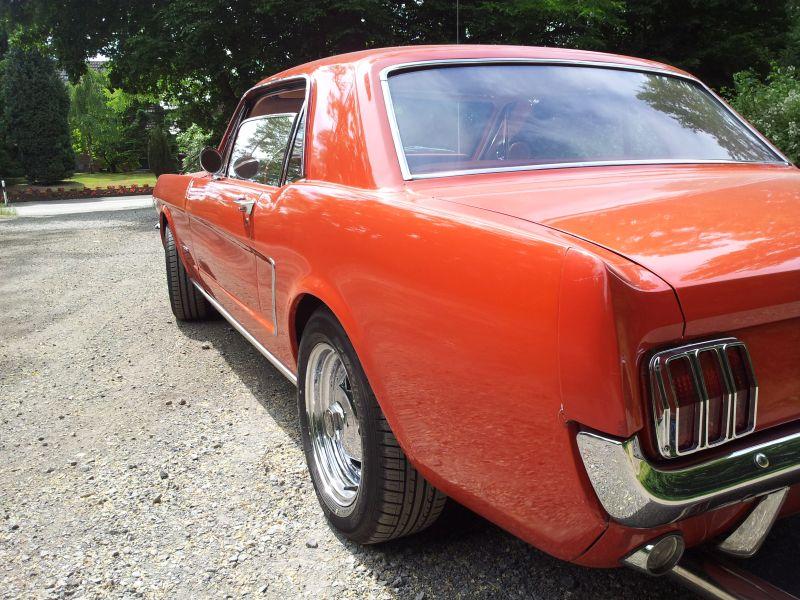 """Ford Mustang 289 - auf dem Parkplatz """"schnappgeschossen"""" 1965 20150620"""