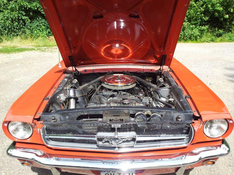 """Ford Mustang 289 - auf dem Parkplatz """"schnappgeschossen"""" 1965 20150622"""